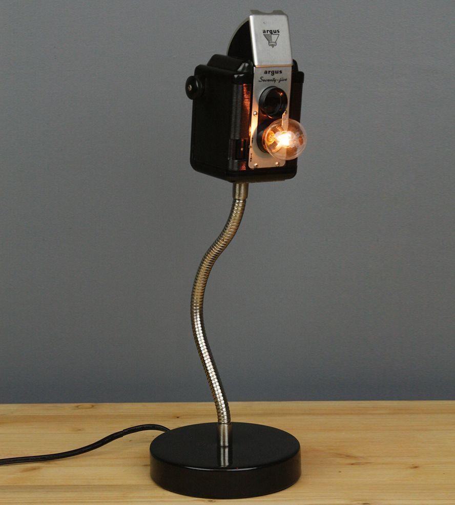 Argus 75 flex vintage camera lamp display lamp ideas and smallest argus 75 flex vintage camera lamp arubaitofo Choice Image