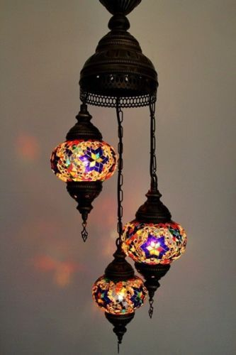 Turkish hand made ceramic chandelierturkish lamp mosaic lamp turkish hand made ceramic chandelier turkish lamp mosaic lamp ebay aloadofball Gallery