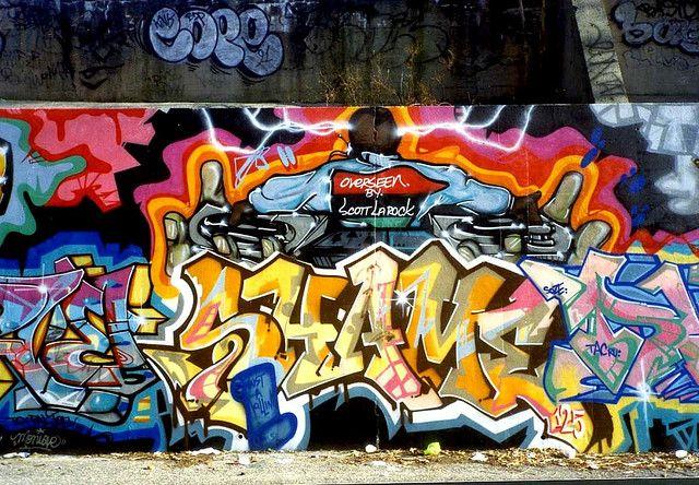Shame125, Bronx, 1991 #GRAFFITI #TATSCRU #SHAME125