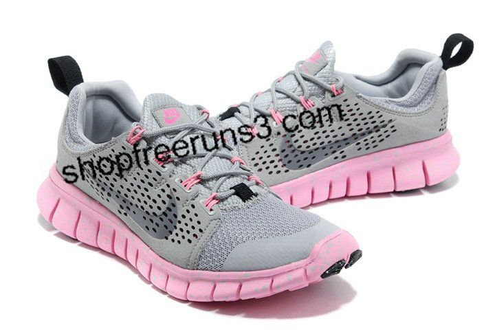the latest 7508c a41d0 ... closeout 2013 women nike free run 3 grey pink low price b46a2 a8448