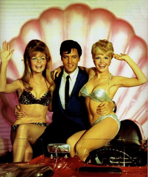 "photo shoots for ""clambake"" (united artists). the ""elvis with co"