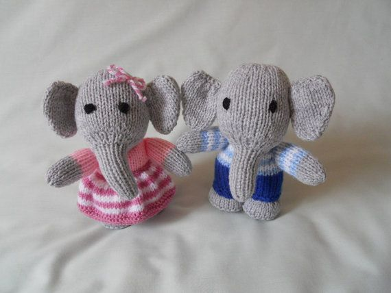 Elephant hand knitted elephant dressed elephant handmade elephant hand knitted elephant dressed elephant handmade elephant toy elephant baby gift child gift little girl gift nursery decor negle Image collections