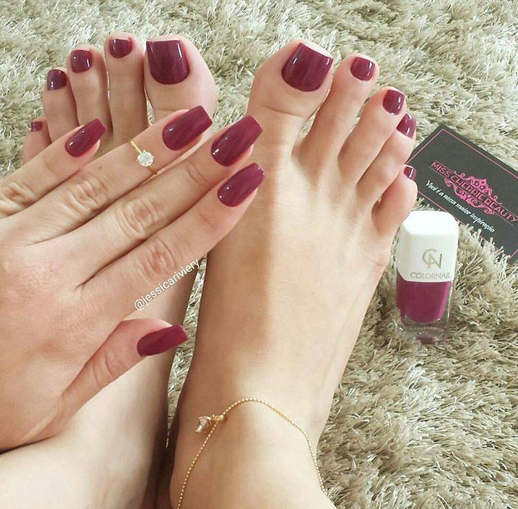 Lovely nail color | Your Pinterest Likes | Pinterest