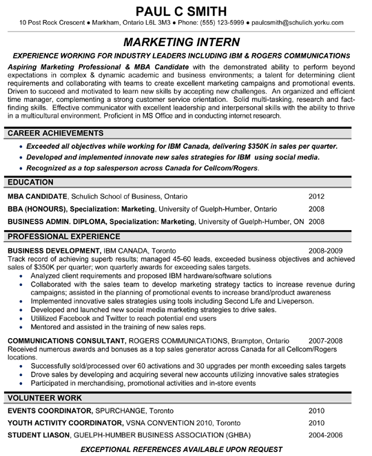 Marketing Resume Sample  Manoj Sharma    Marketing Resume
