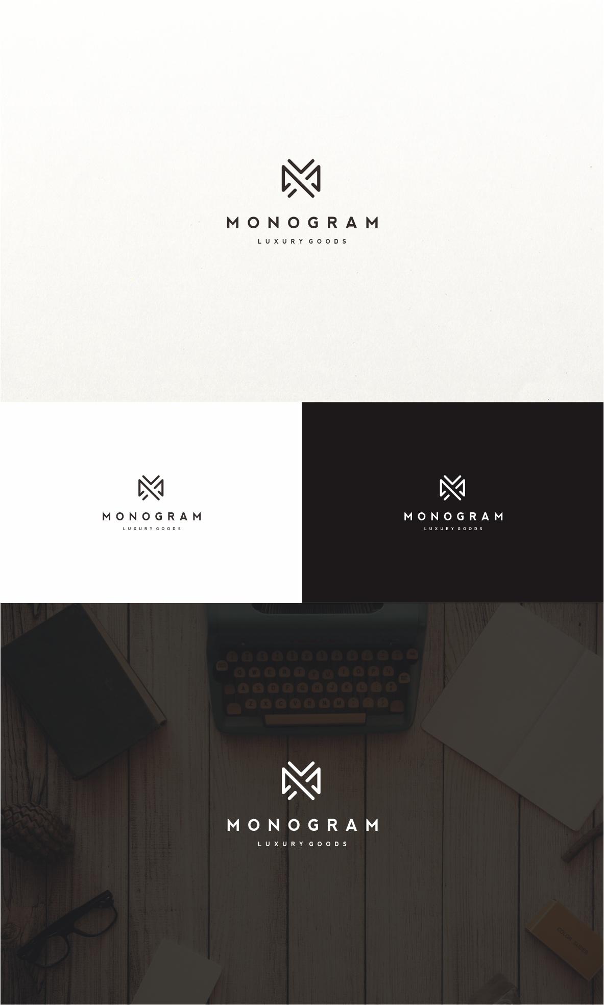 Monogram Logo Retail Luxury Goods Logos Design