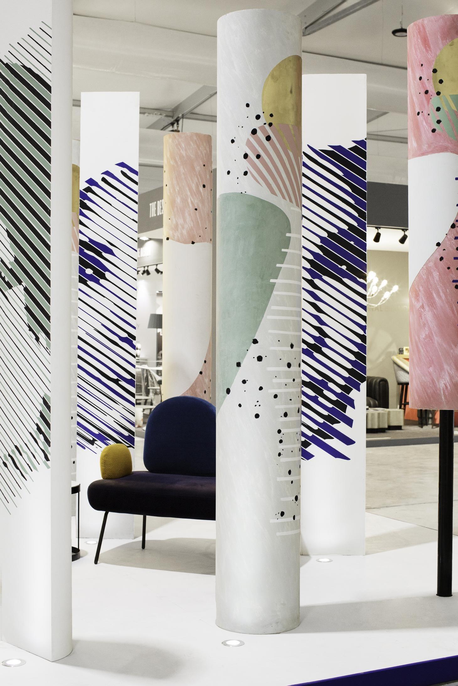 Uae S Thriving Creative Scene Catapults Dubai Design Week Onto A Global Stage Column Design Interior Columns Dubai Design Week