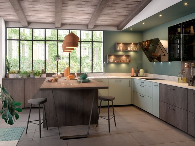 Meuble de cuisine  nos modèles de cuisine préférés Decoration