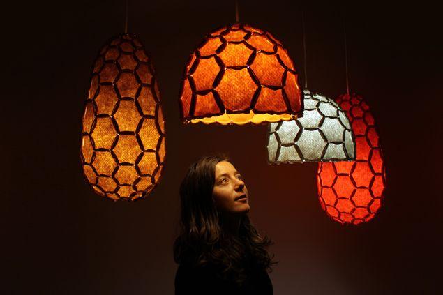 Beautiful Nectar Lampshade   Designer Rebecca Asquith For Designtree Home Design Ideas