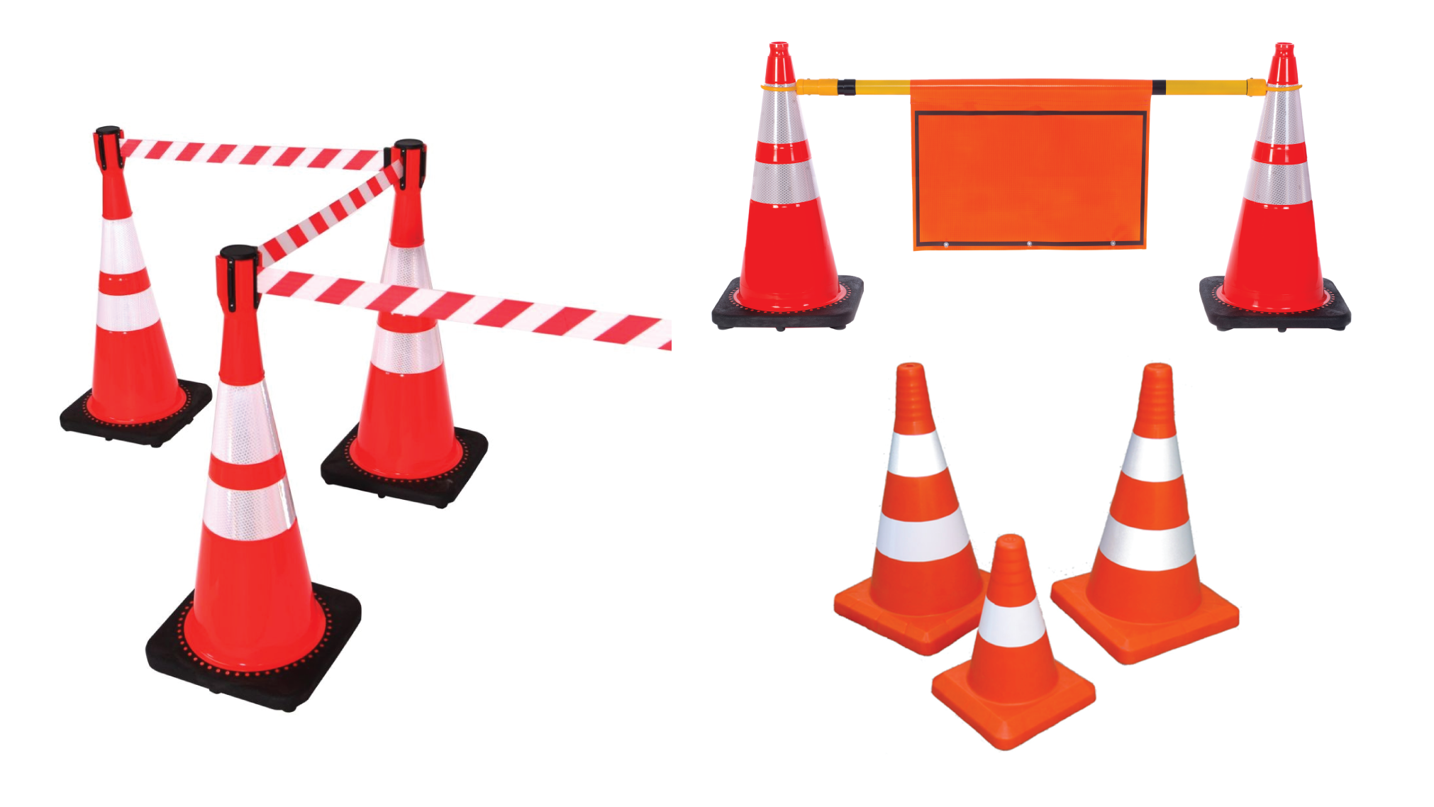 High Visibility PVC Rubber Traffic Safety Cone Price in