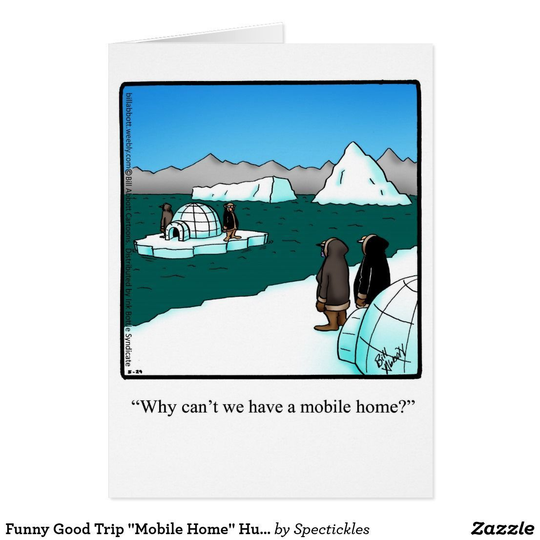 Funny Good Trip Mobile Home Humor Greeting Card | Home Humor ... on heavy equipment by owner, used mobile home sale owner, mobile home parks sale owner, apartments for rent by owner, mobile homes for rent,