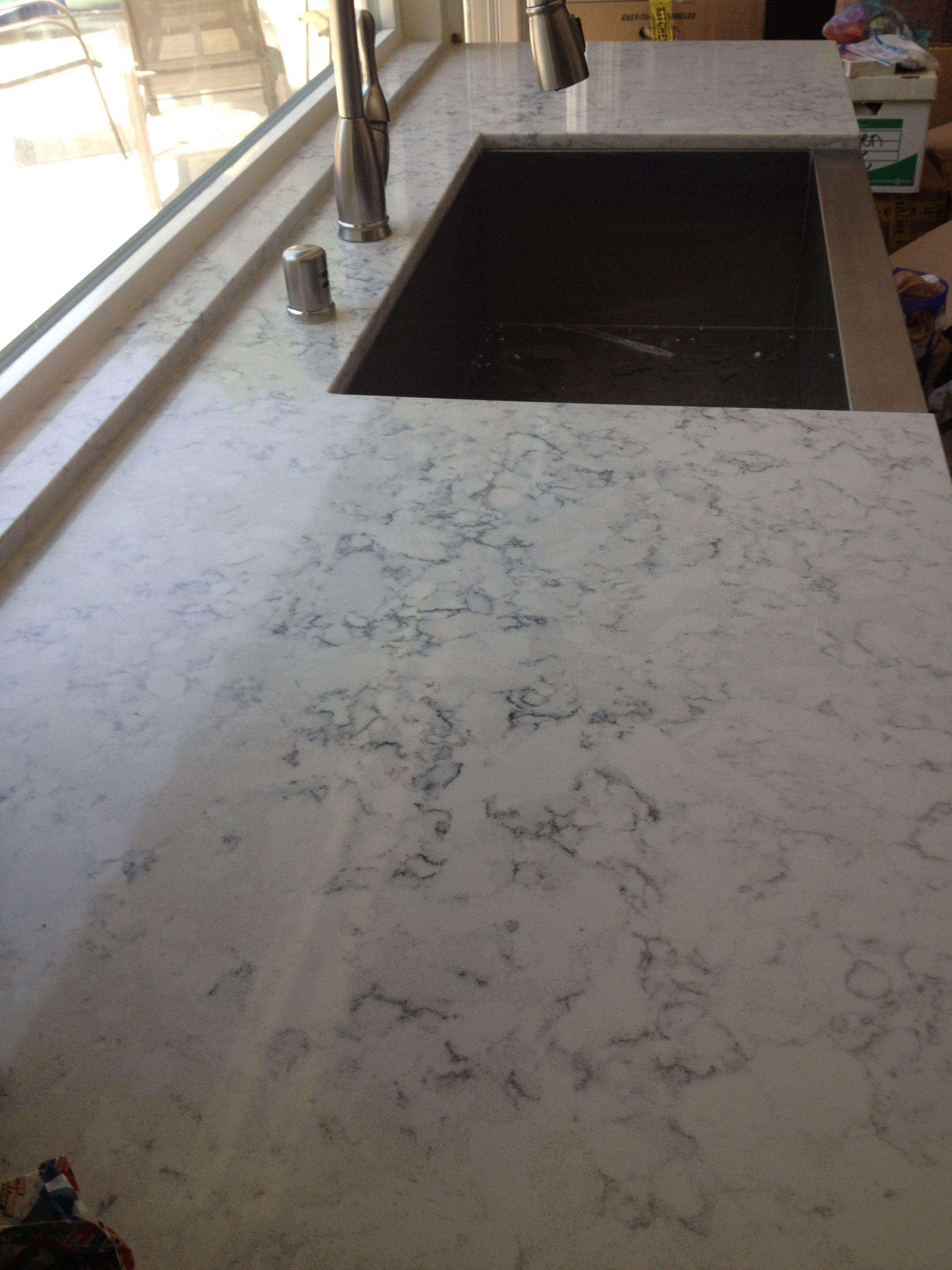 Silestone Helix Looks Like Marble Lafayette House Kitchen Plans