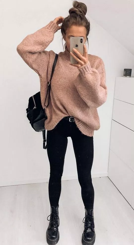 Cute fall outfits and trends 02 ~ Dresses for Women #falloutfits2019trends