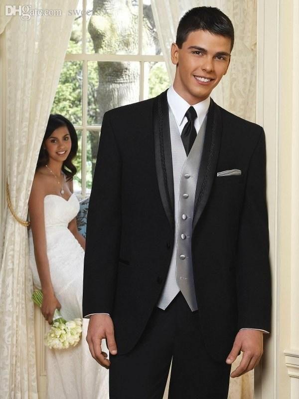 Finding best online wholesale-new arrival black groom tuxedos ...
