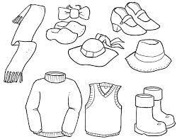 Imagenes De Dibujos De Prendas De Vestir Para Colorear Coloring Pages Barbie Coloring Pages Coloring Pages Winter