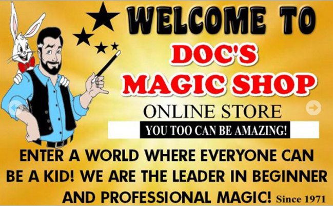 Doc's Magic Shop • Bring your kids to the most fun shop in Gatlinburg! Enter a world where everyone can be a kid! We are the leader in beginner and professional Magic! #magic #shop #gatlinburg