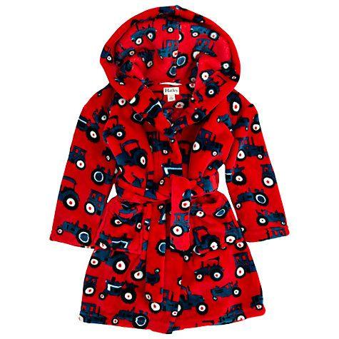 ecf6696105 Buy Hatley Boys  Tractor Bear Fleece Robe