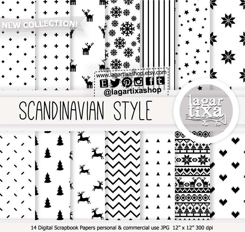 Un favorito personal de mi tienda Etsy https://www.etsy.com/mx/listing/484400557/fondos-digitales-blanca-navidad-nordica #scandinaviandesign #Scandinavia #nordic #christmas #patterns #navidad #natale