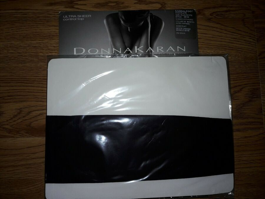 New DONNA KARAN OB108 Hosiery Ultra Sheer Control Top Choose Size//Color
