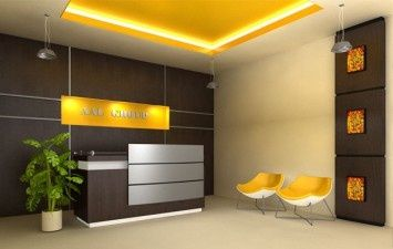 Peaceful Office Reception Area | Consultorios | Pinterest | Office ...