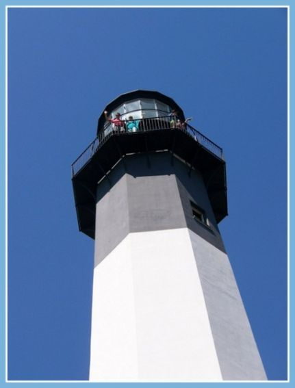 Top of Tybee Lighthouse