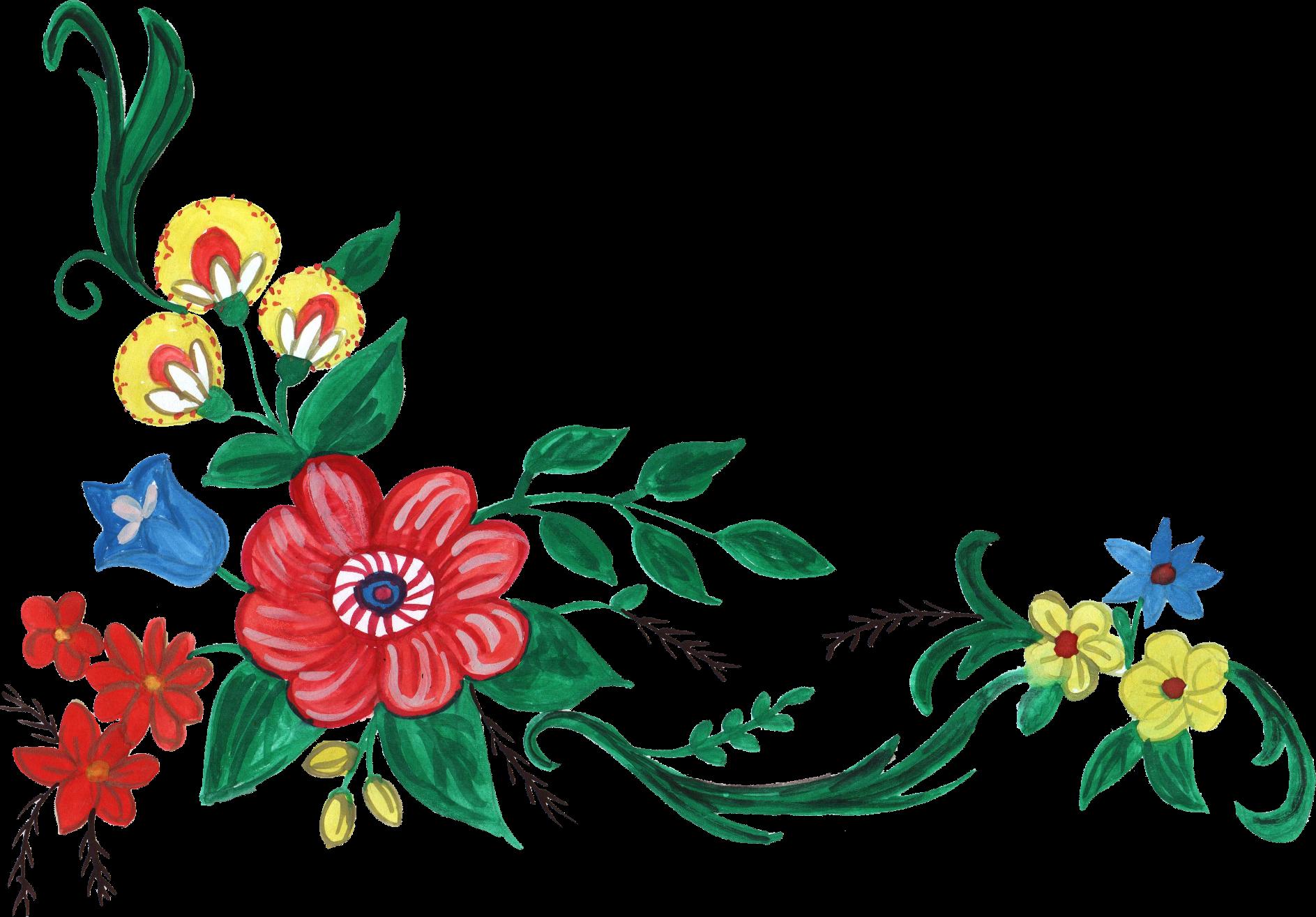 Open Full Size Png File Size Flower Corner Design Png Download Transparent Png Image And Share Seekpng Corner Designs Graphic Design Software Sakura Flower
