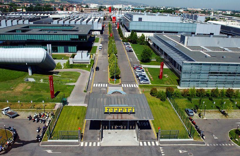 Ferrari Factory Tour Mechanical Workshop Maranello Ferrari Factory Tours