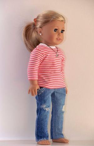 18 inch American Girl Doll Clothing Active Wear by Simply18Inches by janet wilkey #18inchdollsandclothes