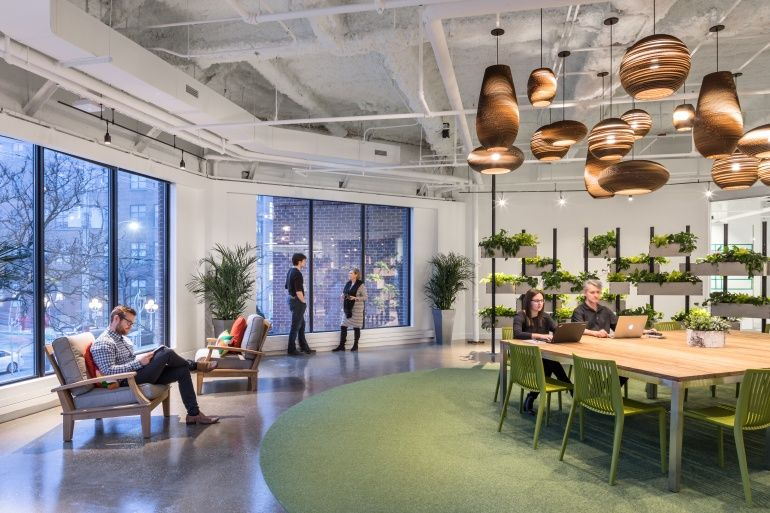 Projects By The Top 100 Giants 2018 Workplace Design Architect