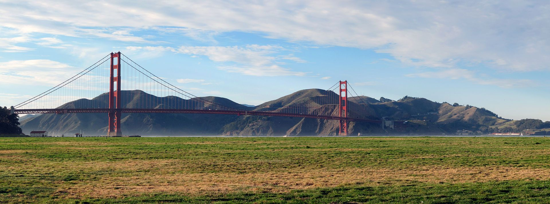 Crissy Field with Golden Gate Bridge and Marin Headlands - Crissy Field - Wikipedia, the free encyclopedia