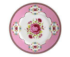 Prato para pão rose belle - 17cm