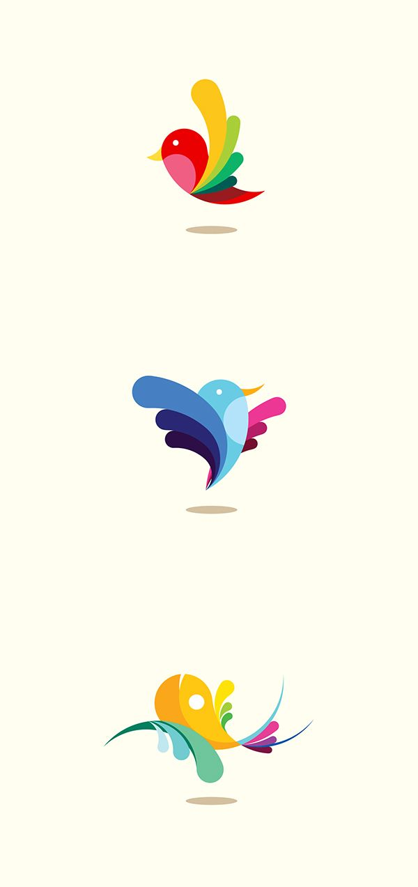 Bird and Fish : Droplet Shape