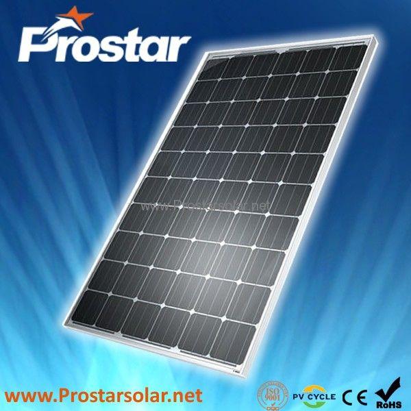 Prostar Monocrystalline Solar Panel 250w Pms250w Solar Panels Solar Solar Battery