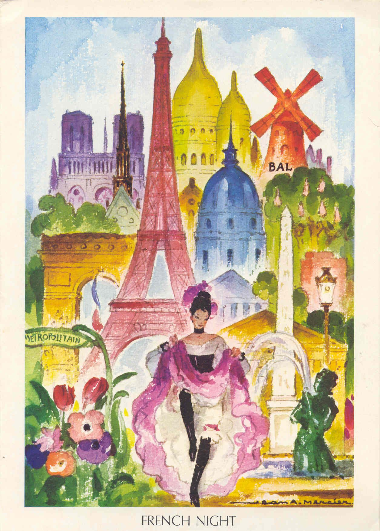 Illustration By Jean Mercier Illustration Paris Guitry