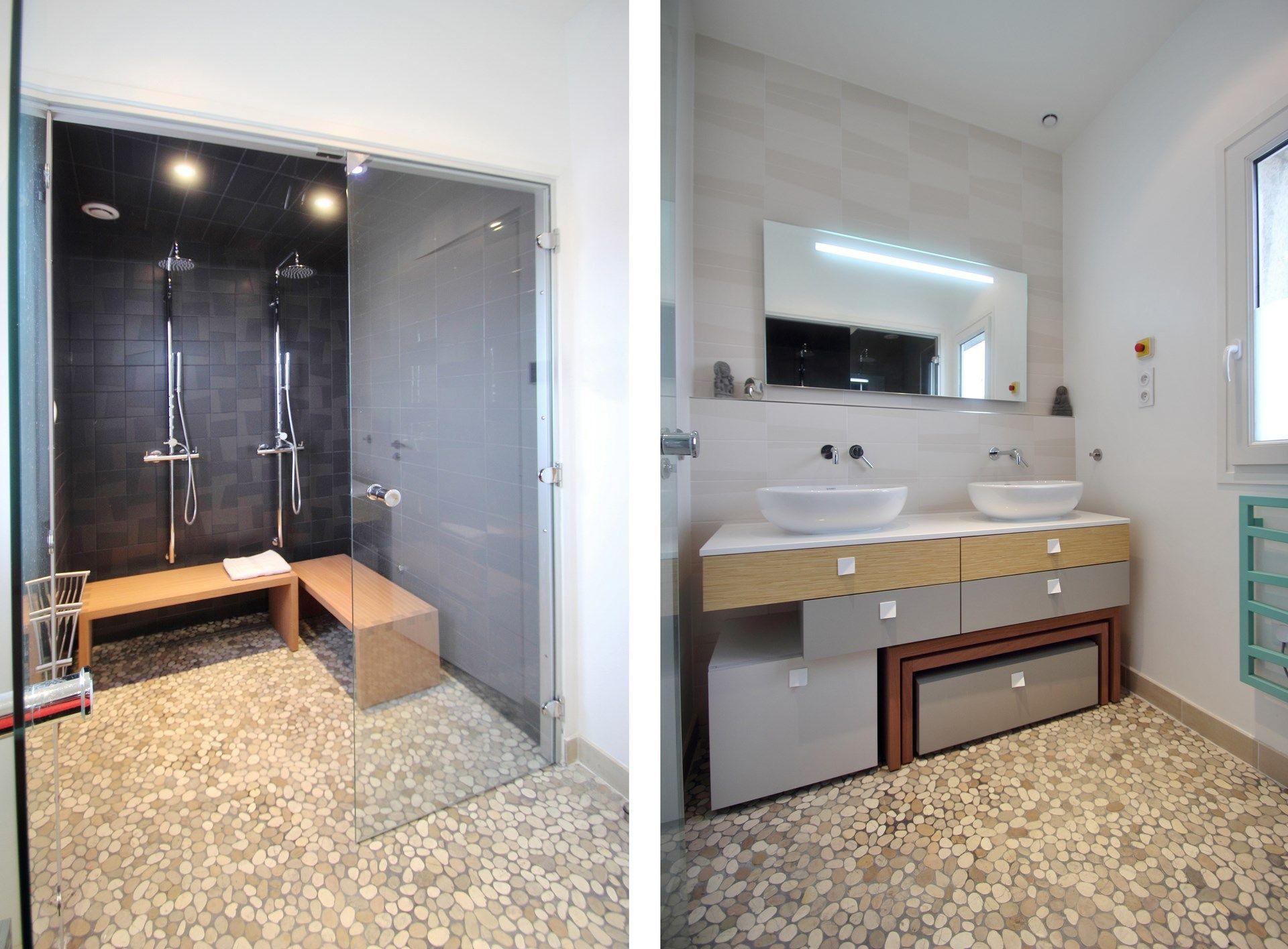 appartement sdb hammam grande douche a l italienne agence avous agence avous salle de bain. Black Bedroom Furniture Sets. Home Design Ideas