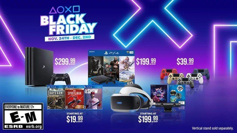 Get A Ps4 Slim And 3 Of Playstation S Biggest Hits For 200 On Black Friday Avec Images Ps5 Film Premiers Sons