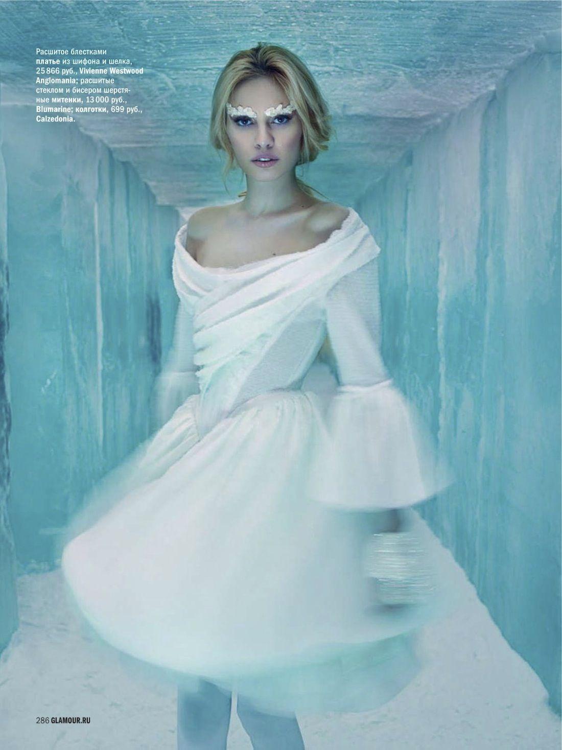 visual optimism; fashion editorials, shows, campaigns & more!: masha kirsanova by henrik halvarsson for glamour russia december 2012