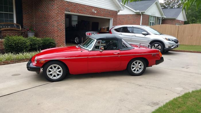 1979 MG MGB GHN5UL483609G Registry The Experience