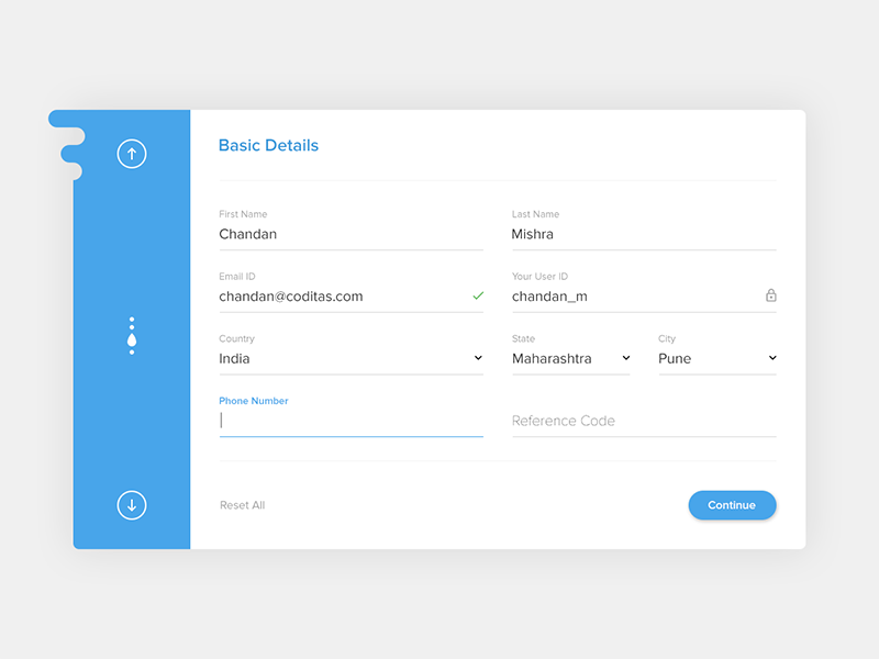 free form ui  Pin on Form