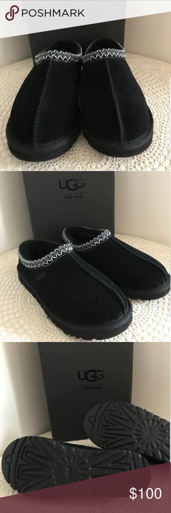 ec1da8767a4 UGGS mens Tasman slippers NIB Tasman slippers Never Worn! Size US 10 ...