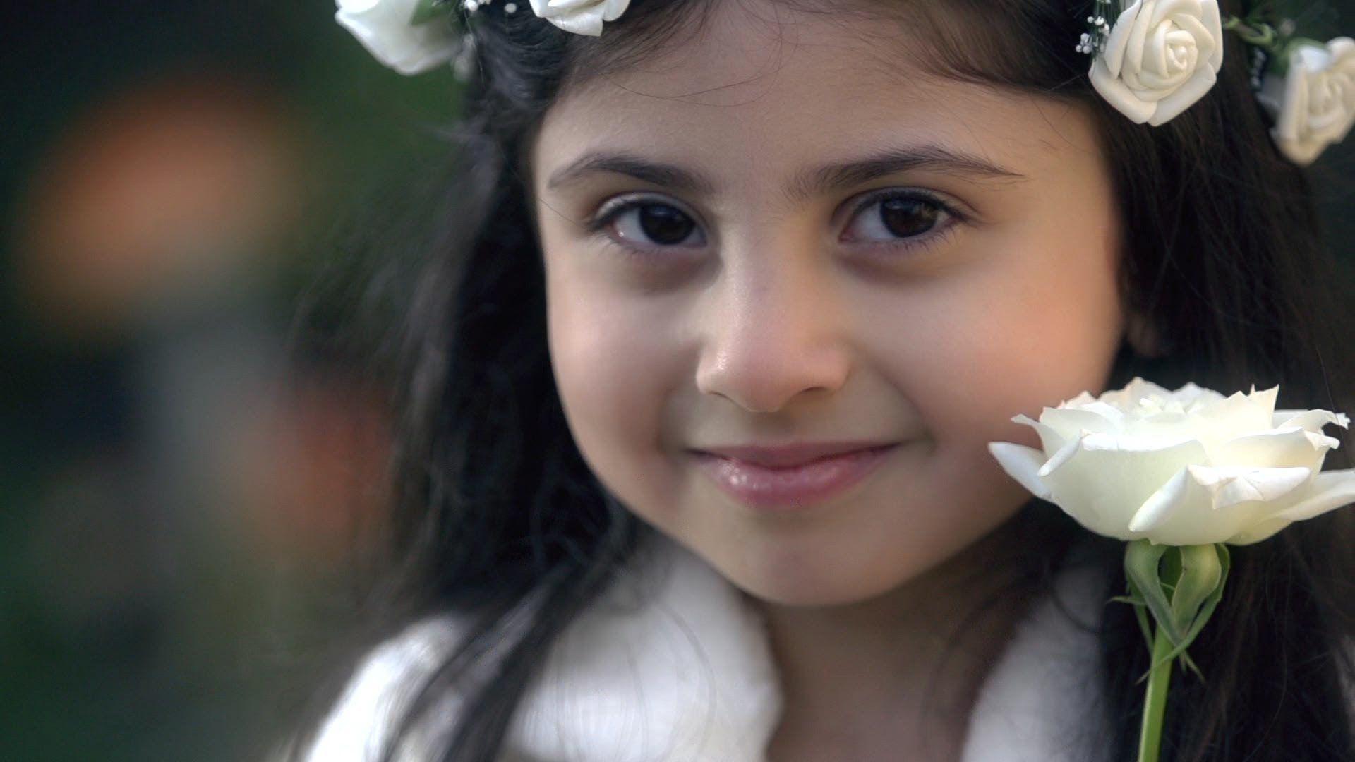 فيديو كليب وردة بيضاء ريماس العزاوي كناري Hd Flower Photos Celebs Pearl Earrings