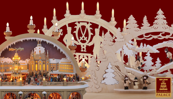 the history of the german candle arch a traditional german christmas decoration