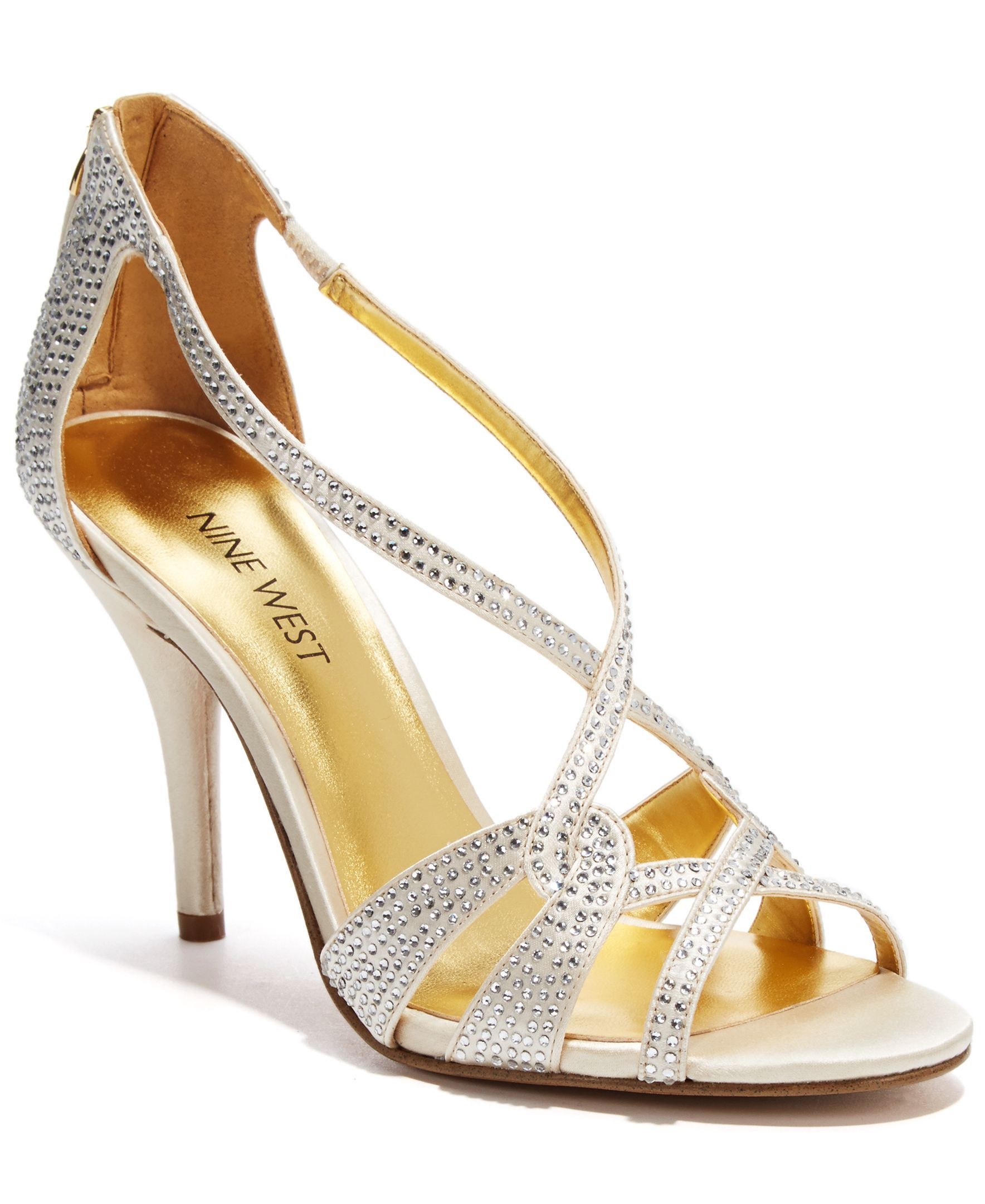 Nine West Asvelia Mid Heel Evening Sandals Evening Sandals