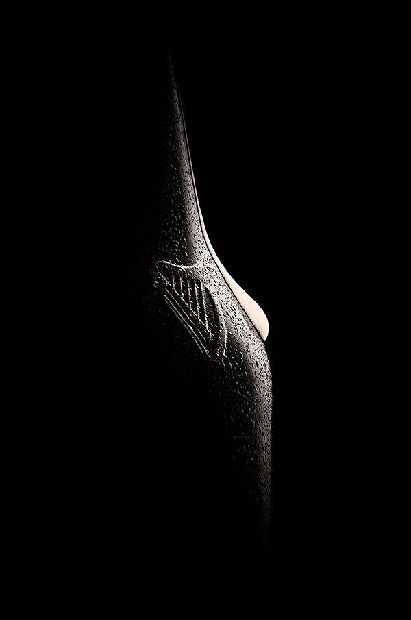 Guinness beauty by Bogdan Pavel, via Behance