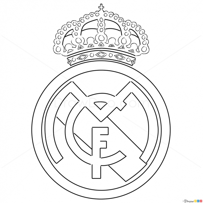How To Draw Real Madrid Football Logos How To Draw Drawing Ideas Draw Something Drawing Tutor Real Madrid Logo Real Madrid Soccer Real Madrid Wallpapers