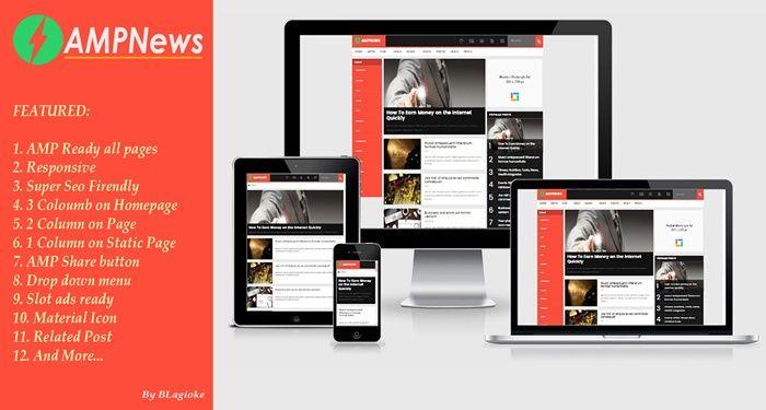 Rekomendasi Template Blog Gratis Valid Amp Membuat Lebih Cepat Dan Ringan
