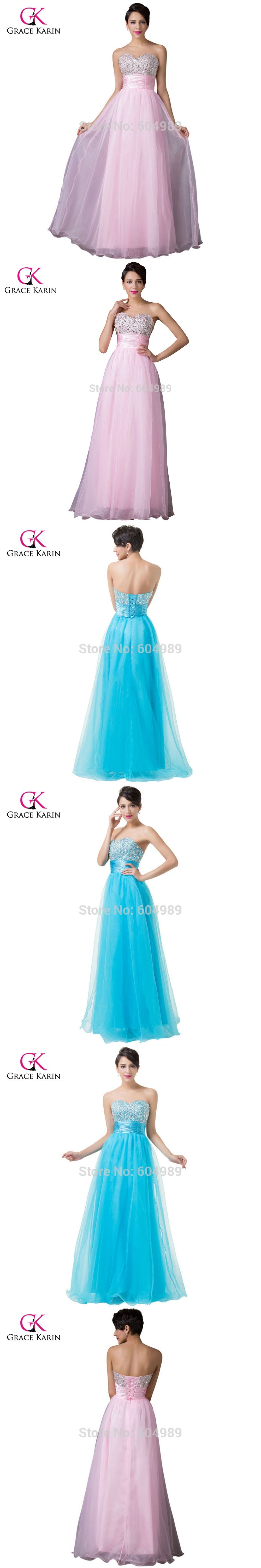 Grace Karin New Arrival Free Shipping Strapless Sweetheart Beaded Sequins Long Prom Dresses Pink Dark Turquois Prom Dresses Pink Prom Dresses Prom Dresses Long [ 6000 x 1000 Pixel ]