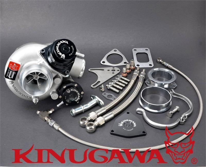 Kinugawa Billet Turbocharger 2 4 Td05h 16g Blow Off Valve T3 Housing 8cm 10cm 321 02001 220 Turbocharger Supercharger Valve