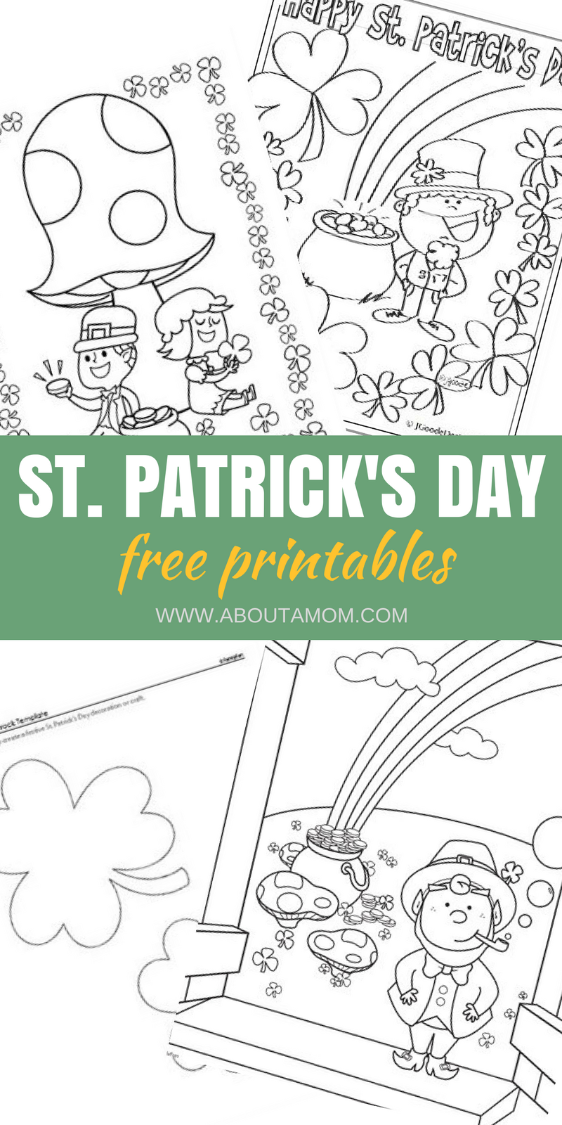 St Patrick\'s Day Printable Coloring & Activity Sheets | Free ...