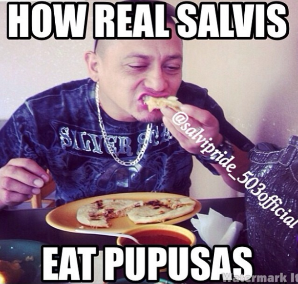 And You D Look Crazy Romantic Eating Them Like This El Salvador Food El Salvador Culture Salvadoran