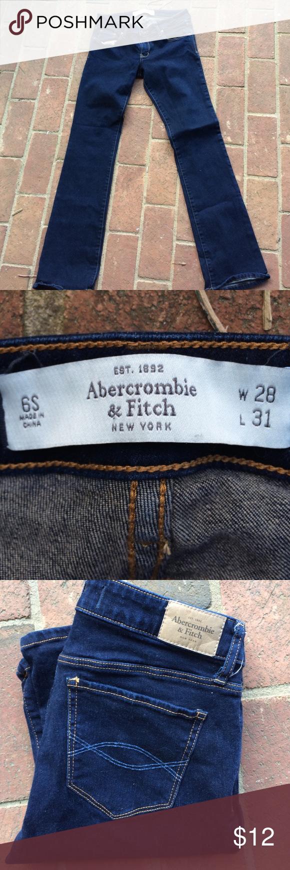 Abercrombie & Fitch Jeans 6S/28 Abercrombie & Fitch Jeans 6S.  Weight 28, Length 31 Abercrombie & Fitch Jeans Skinny